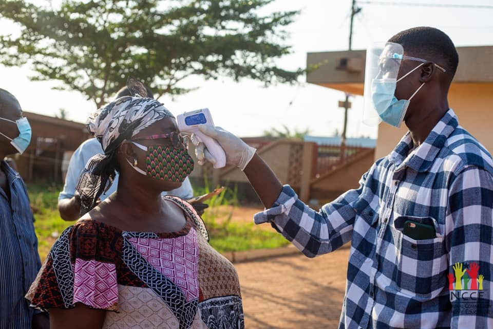 CDC declares level of COVID-19 in Ghana 'very high'