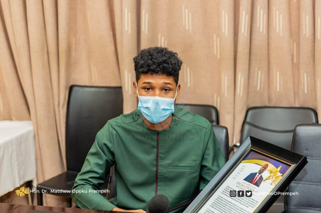 NAPO commends Free SHS ambassador for supporting Akufo-Addo's vision
