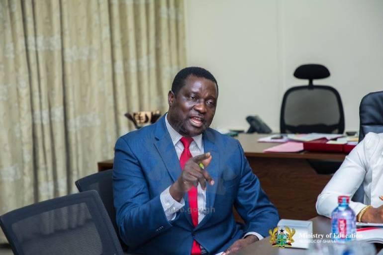 Dr Osei Adutwum denies enrolling son in private SHS over Free SHS
