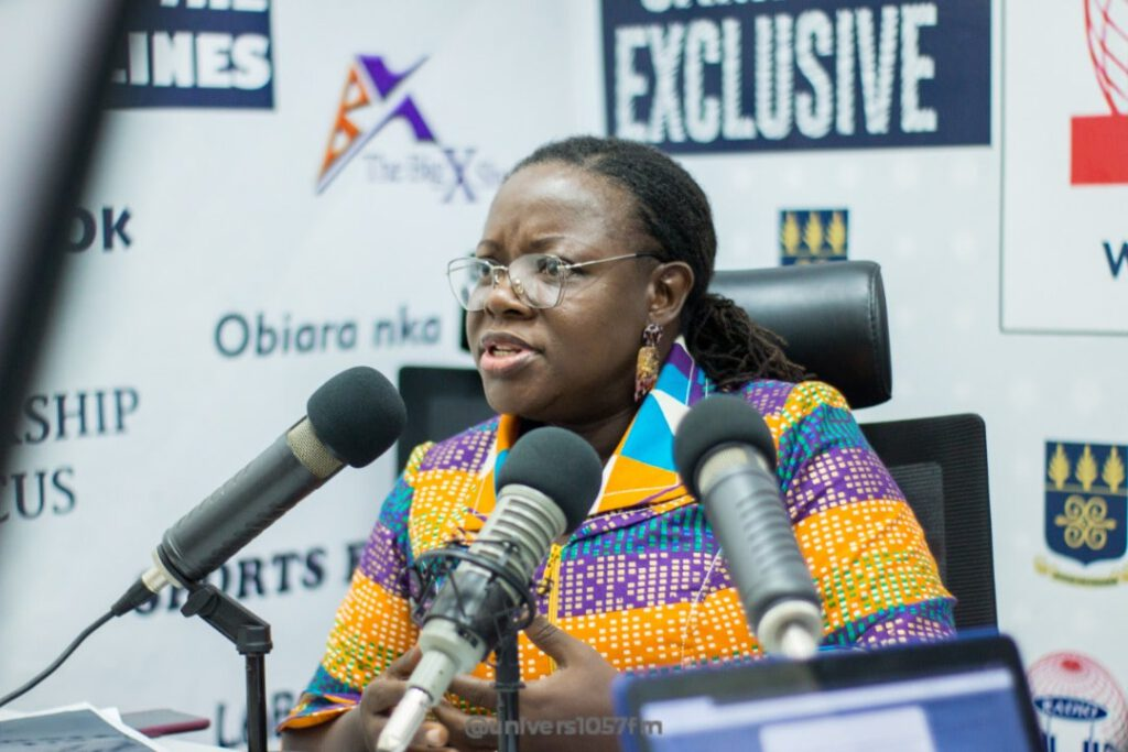 Prof. Nana Aba Amfo appointed Acting Vice-Chancellor of UG