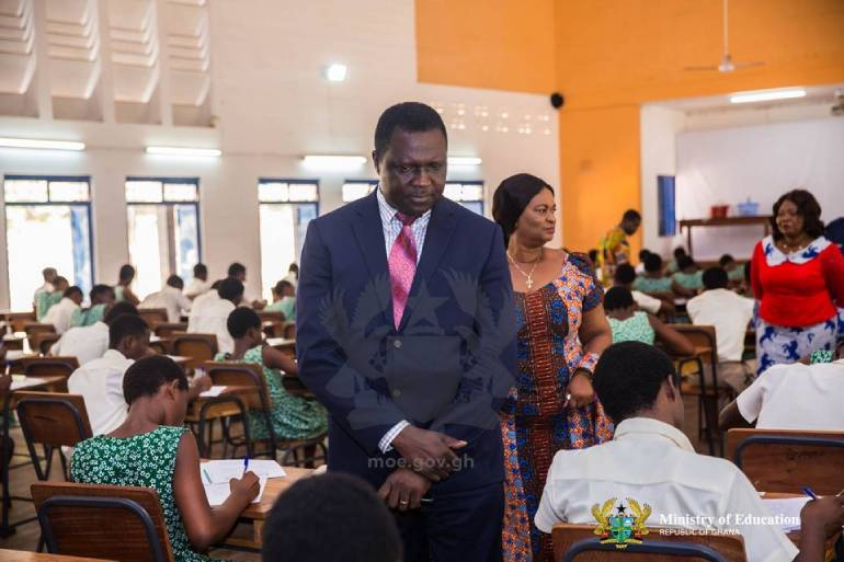 Flashback: Covid positive candidates to write WASSCE - Adutwum