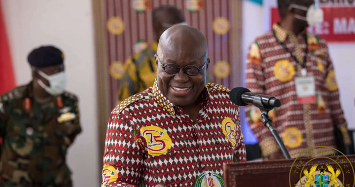 Salary increment for public sector workers not frozen till 2024 - Akufo-Addo