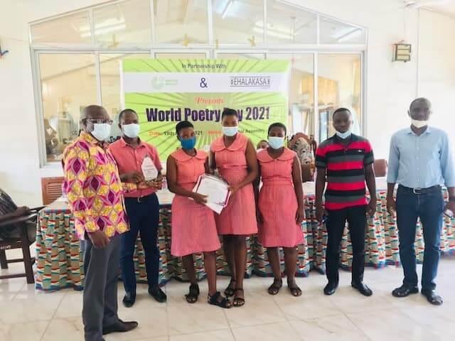 Mawuli School wins 2021 Ehalakasa SHS poetry slam championship trophy