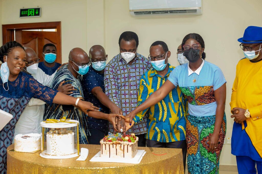 MoE organises birthday party for Education Minister, Adutwum