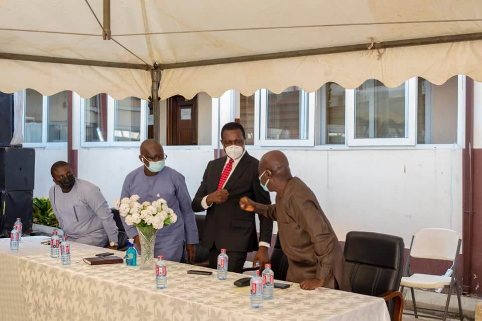 Adutwum meets GES staff, outlines vision for education sector