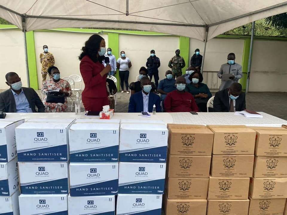 EC donates leftover personal Protective Equipment to GES, GHS