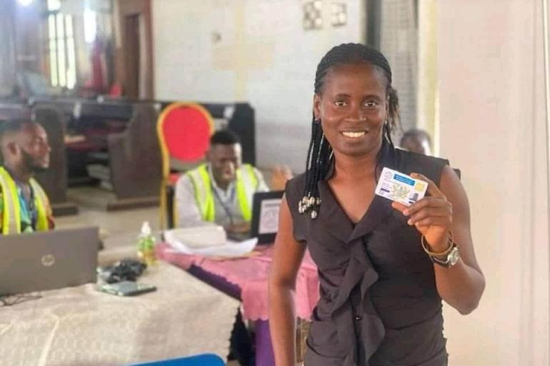 Teacher license card issuing: Check next region after Central region