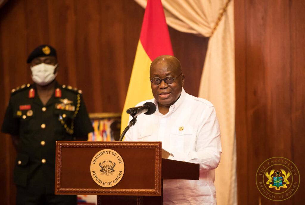 Covid-19: President Akufo-Addo to address the nation tonight