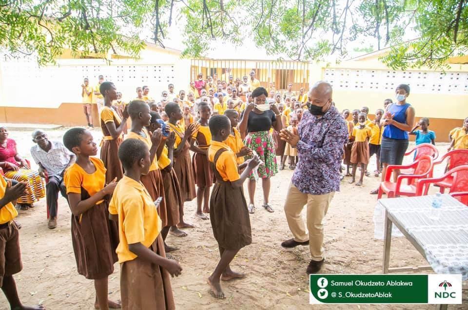 Ablakwa builds primary school block for village in North Tongu