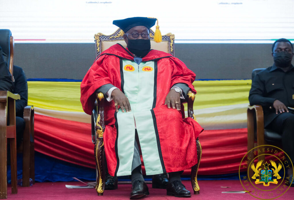 UCC confers Doctor of Philosophy degree on President Akufo-Addo
