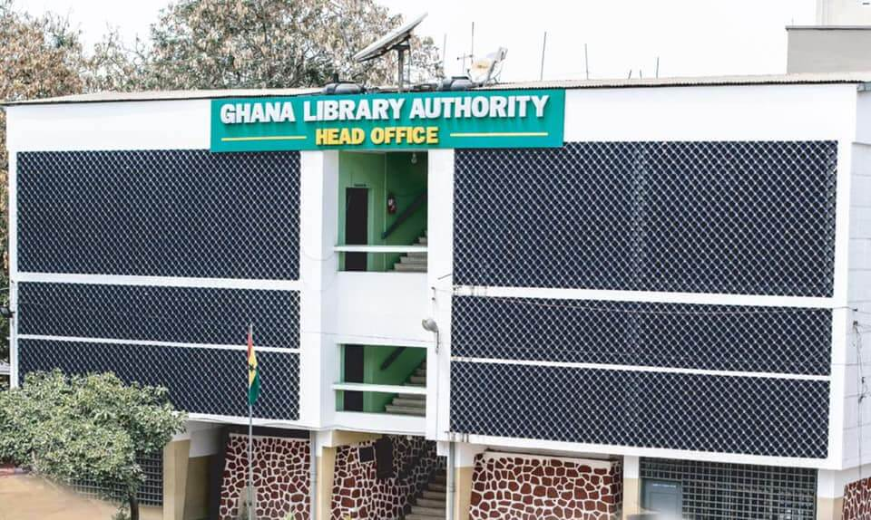 Ghana Library Authority wins 'library of the year' award at LBF