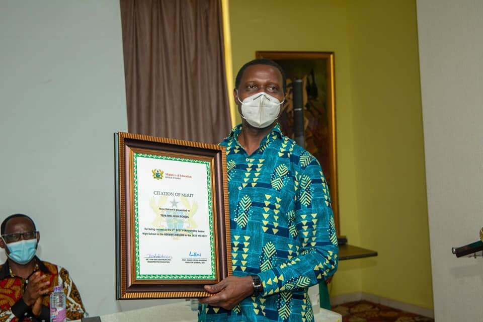 MoE to present citations to best 2020 WASSCE SHSs in all regions