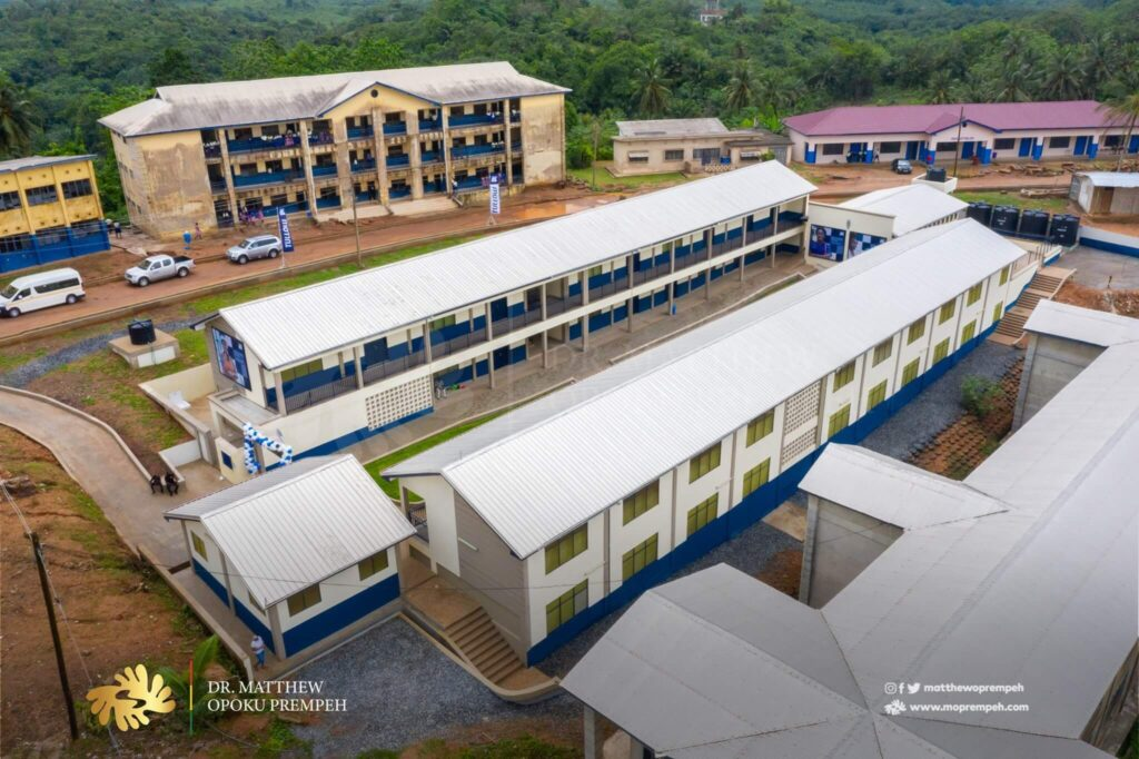 Tullow Ghana builds dormitory at Nsein SHS to support Free SHS