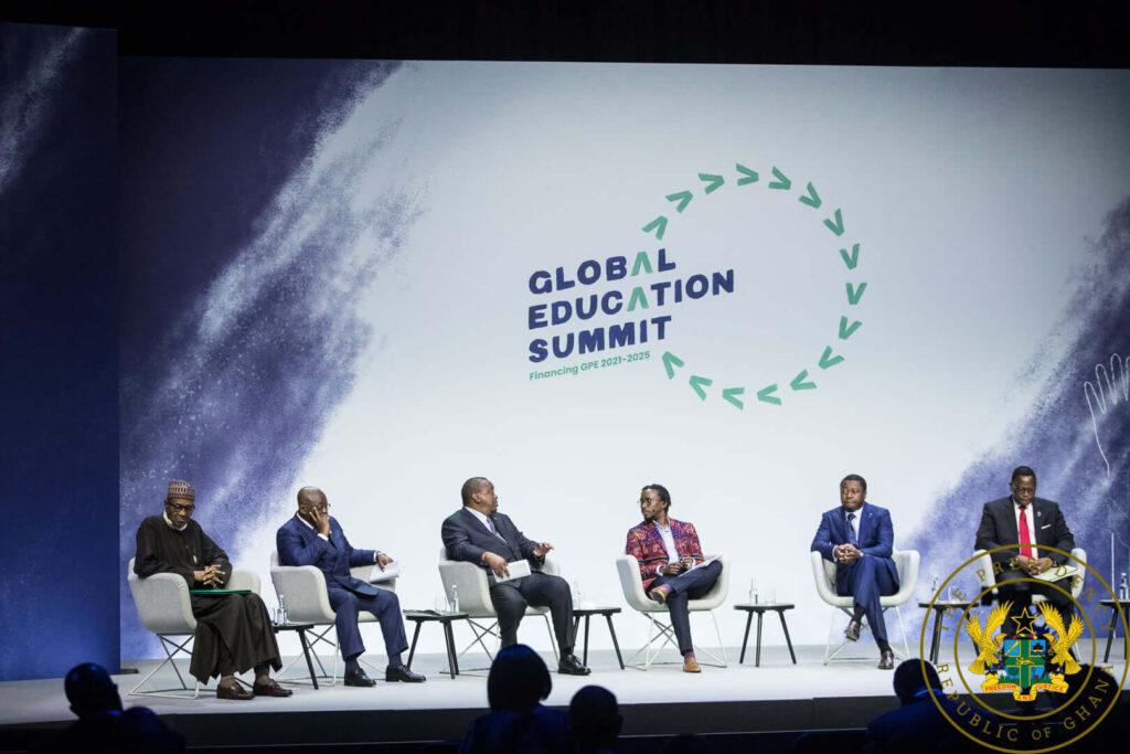 President Akufo-Addo attends Global Education Summit in UK