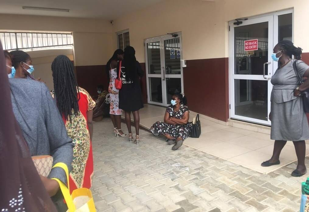 2021 promotion exams: Pass but 'failed' teachers storm GES office