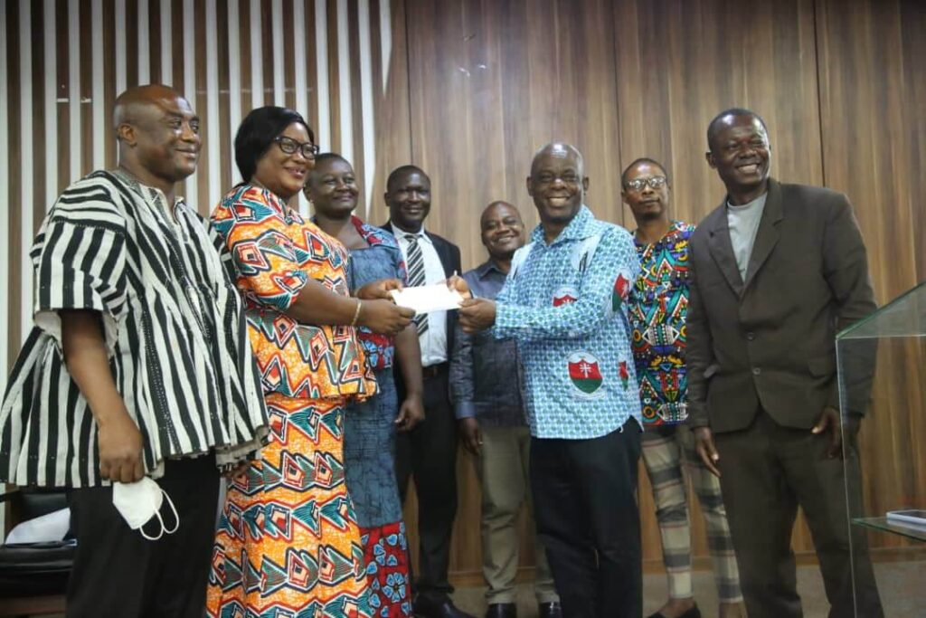 GNAT donates GHS154,000 to 7 science-based Colleges of Education