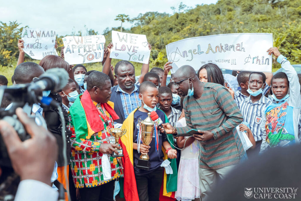 UBS p6 pupil places Ghana 1st, 3rd in Africa & World Spelling Bee