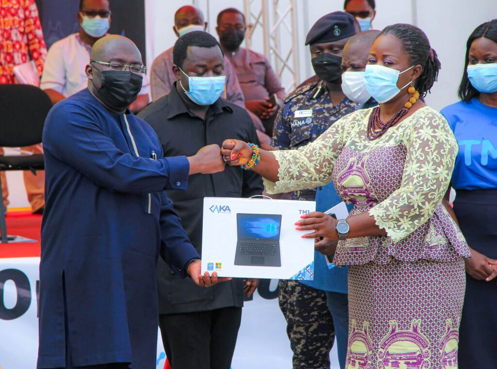 GES commences distribution of laptops to government teachers