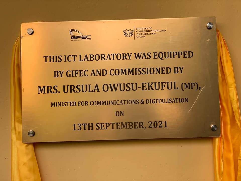 Digitalisation Minister commissions ICT lab for Sefwi Wiawso SHS