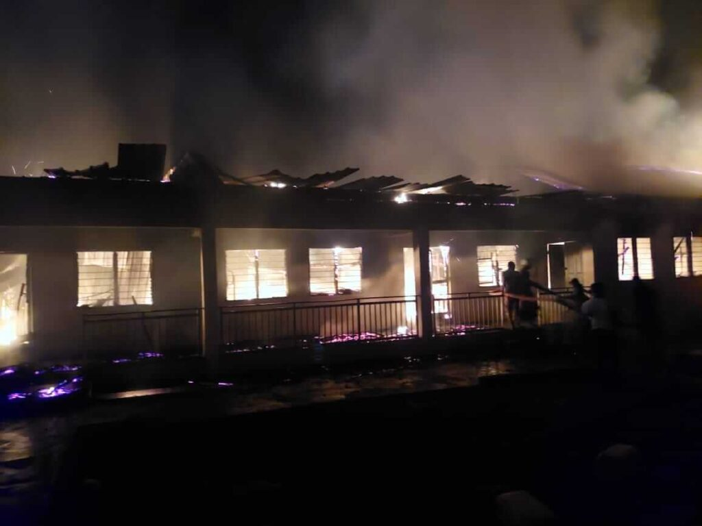 MoE to set up committee to probe Nyinahini SHS fire incident