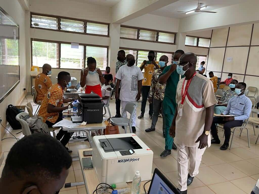 Assibey visits NSS registration centres, warns of special posting